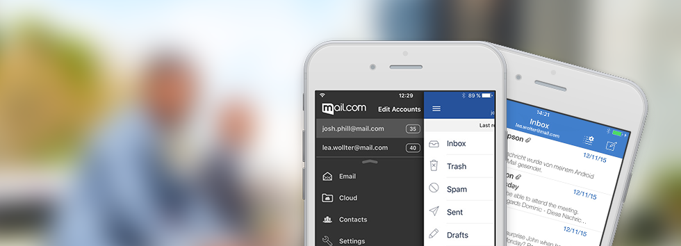 Nhanh tay Tạo tài khoản email miễn phí với mail.com