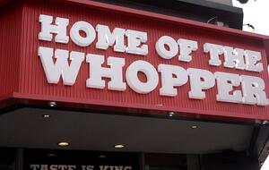 The Home of the Whopper has started bringing Whoppers home - Photo: Imago