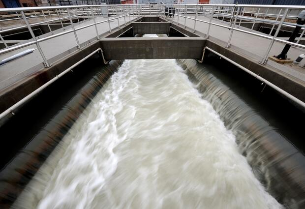 The Newtown Creek Wastewater Treatment plant is the largest in New York City - Photo: dpa